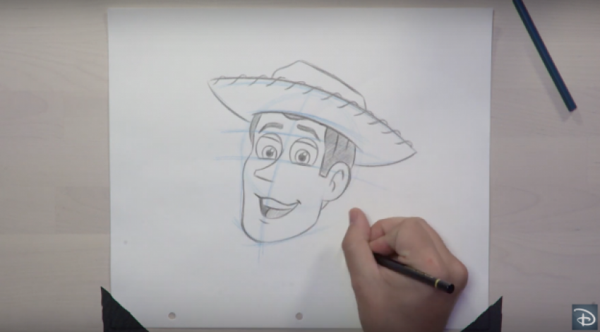 Learn to Draw Woody